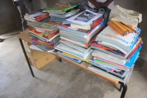 books and school supplies