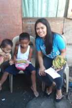 Wheng, our Tacloban feeding coordinator