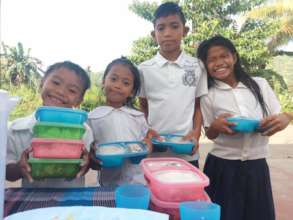 Healthy meals for these kids