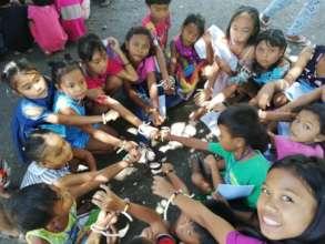 Happy kids of Sitio Dumpsite