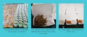 Sample of meals we serve