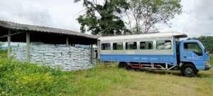 Graduate students take biochar for test farm