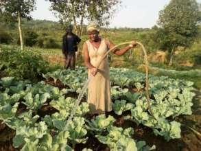 Kenya farm produce with biochar fertilizer