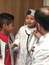 Wants to be a doctor to save other children