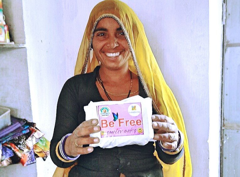 Be Free; Happy Period with Sanitary Napkins