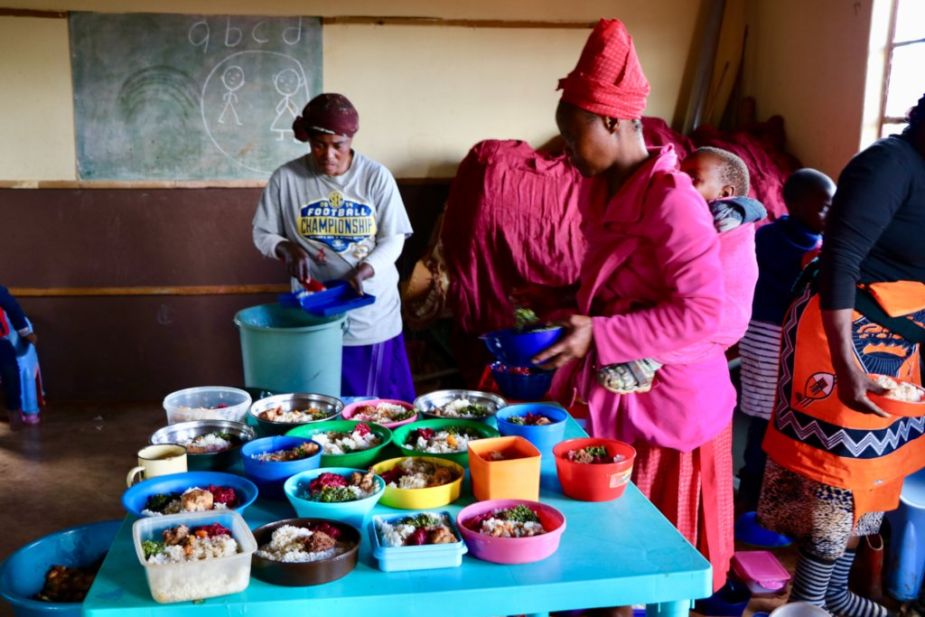 New School Kitchen and Meals for 100 Eswatini Kids