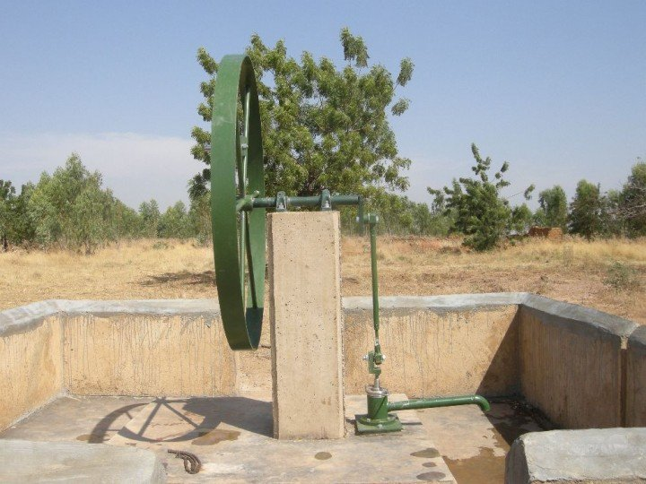 Hand Pump to Provide Water for Dodougou
