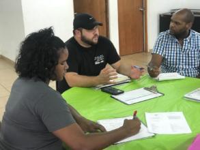 Leadership & Service Program meeting