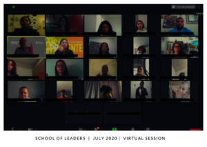 School of Leaders virtual session