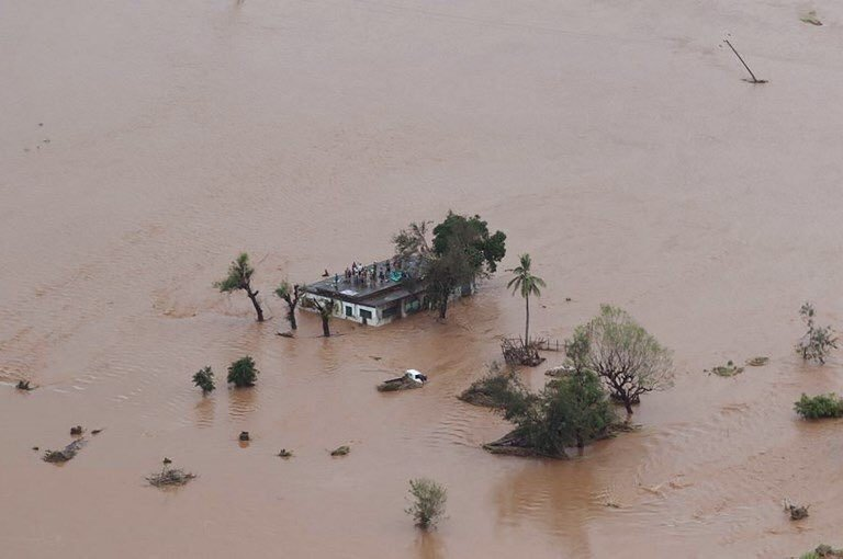 Cyclone Idai damage in Zimbabwe