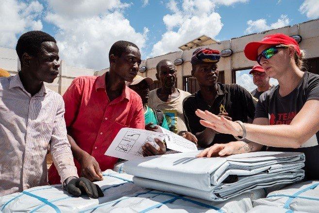 Delivering Humanitarian Aid to Remote Communites
