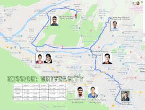 Mission: University Map