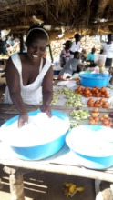 Women reopen their small business using microloans
