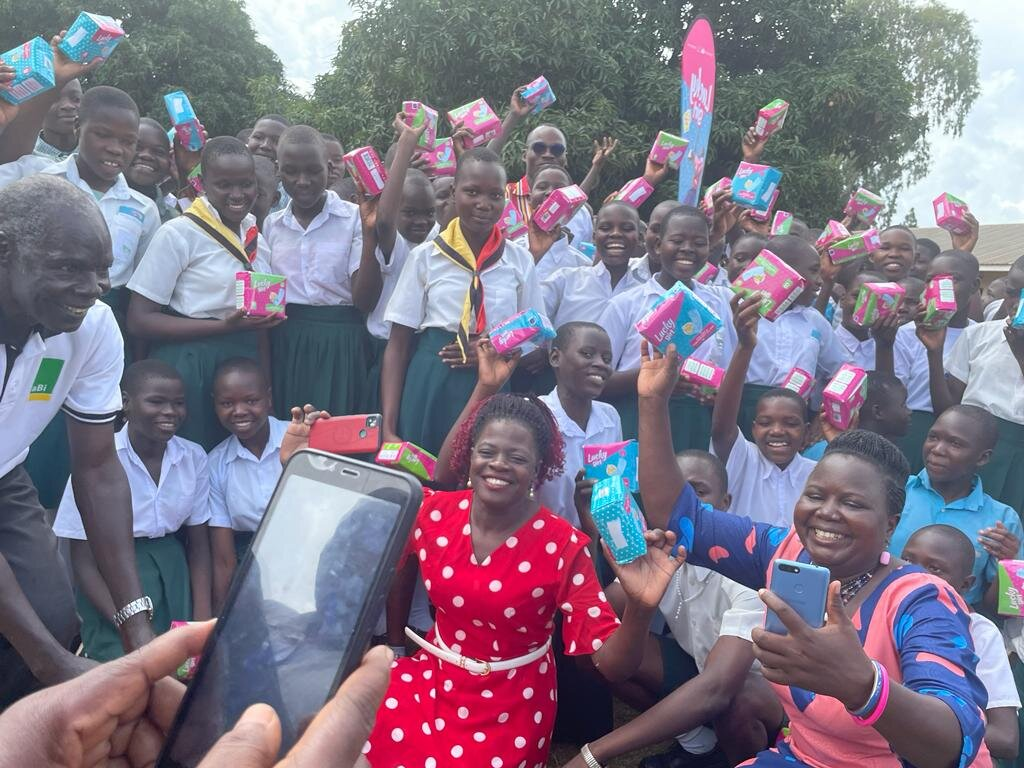 Provide Sanitary Pads to 600 Women/Girls in Uganda