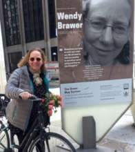 Our Director is a Climate S'Hero & in the exhibit