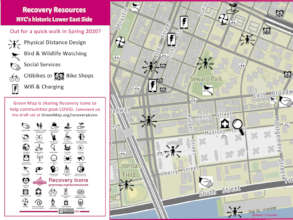 Recovery Map to the Lower East Side - test map 1