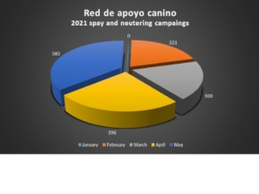 Red de Apoyo Canino Spay an nutering 2021Campaings