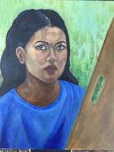 Self-Portrait by Janna Rae Nieto