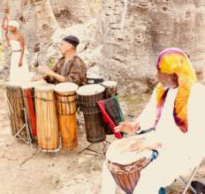 Healing Drums Beyond Trauma By AyAy Baobab