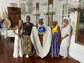 VI Emancipation Govt House July2