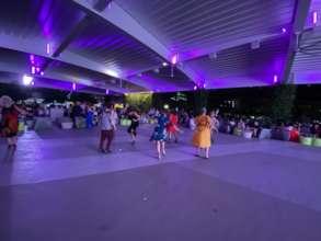 Dancing the night away at Taller Salud's Gala.