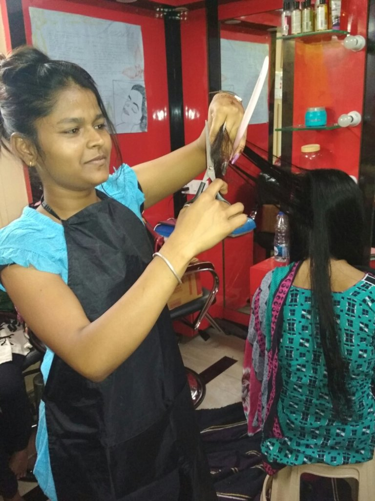 Hair and Beauty Training for 60 Destitute Girls