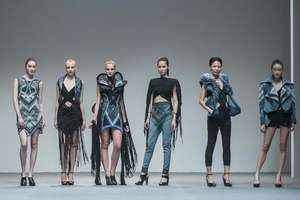 Fashion waste on the runway