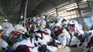 Clothing waste is a global problem