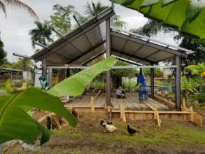 Construction of community design for house