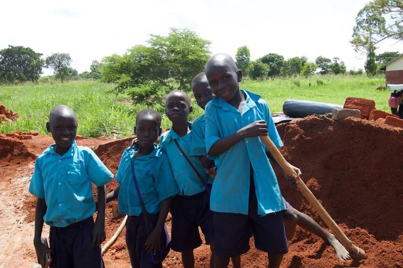 Install Accessible Toilets For Students in Uganda