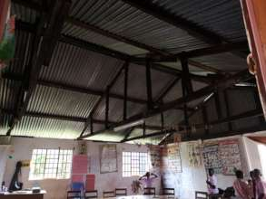 Classroom before the insulation