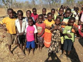 Children from Chuunga Village