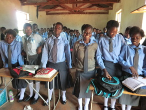 N'gandu grade nine pupils