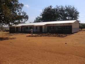 School building built by the Butterfly Tree