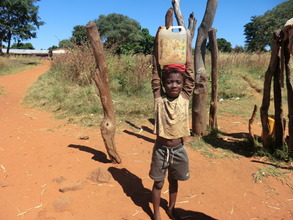 Young pupil from Kamwi School