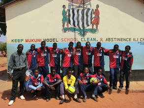 New football kits for Mukuni School