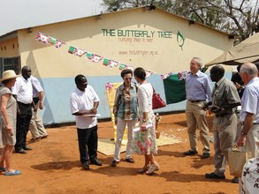 The Princess Royal visits The Butterfly Tree