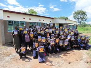 New classrooms and text books for Chaba School