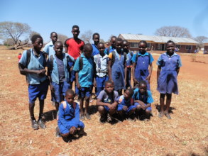 Beneficiaries from Kamwi School