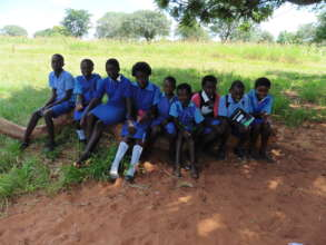 Orphans at Kamwi Primary School