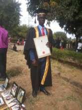 Peter at his graduation