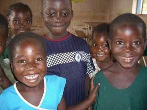 Pre-school children at Ngandu Village