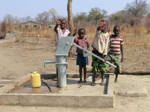 New bore hole - Sibbulo School
