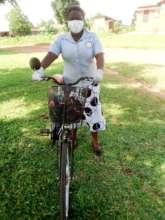 Mentor Mother, Teddy, in Uganda