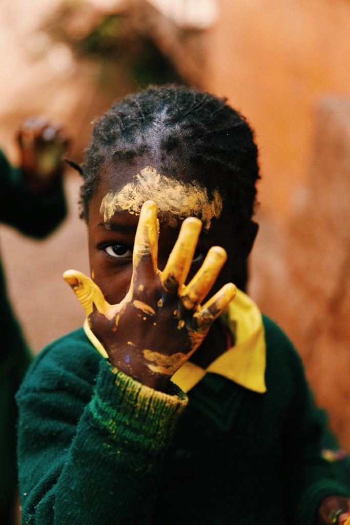 Help Kids in Kabiria, Kenya, into Proper Education