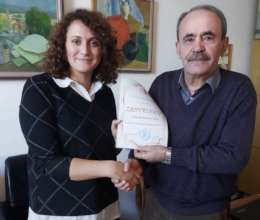 Team member Ermina and Zahid Barucija's principle