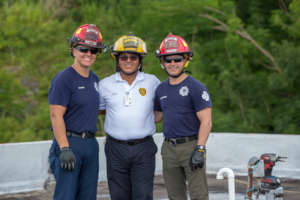 Las Vegas and Puerto Rico Fire Fighters