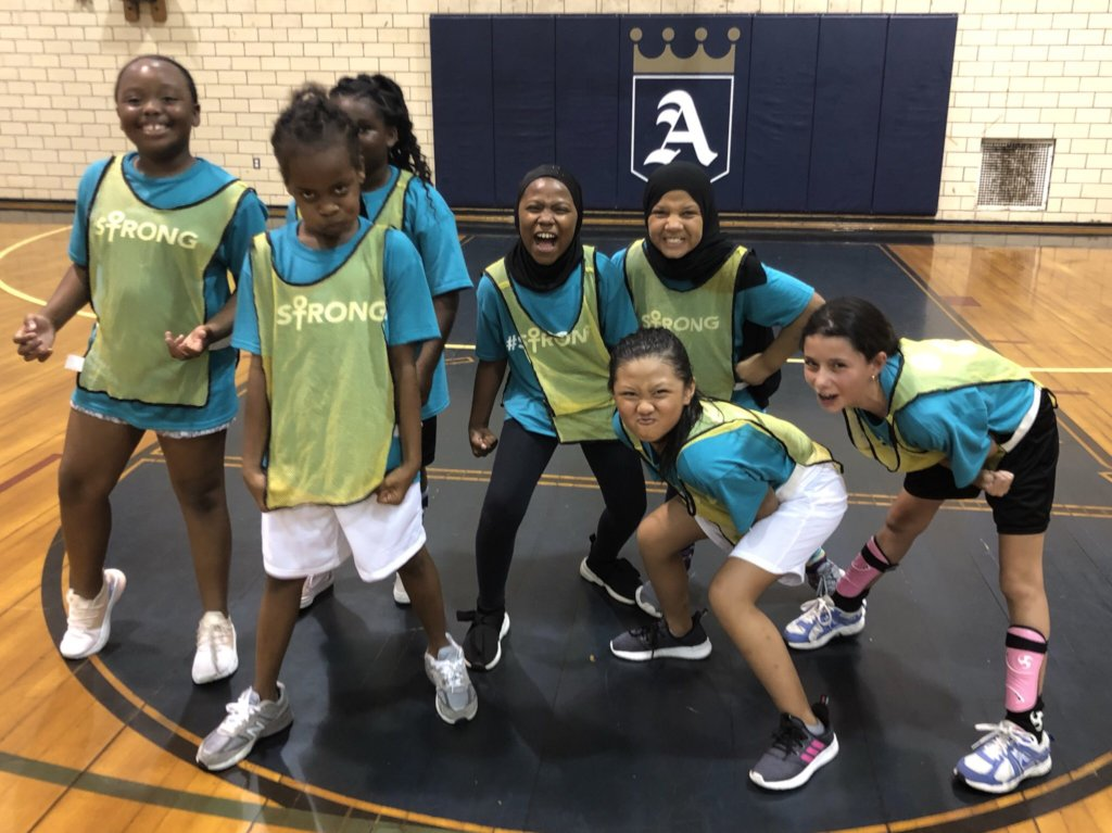 Empower 100 girls through sports and fitness!
