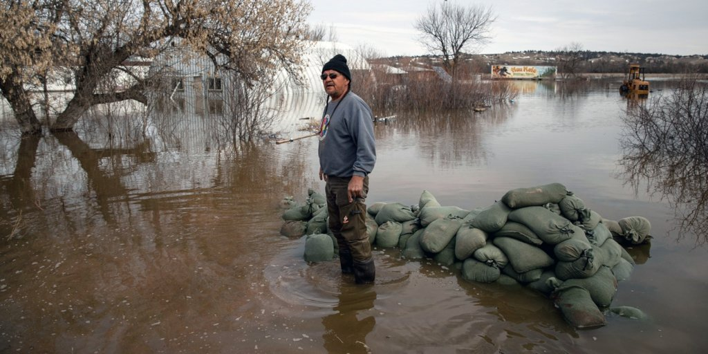 Native American Families Impacted by Flooding