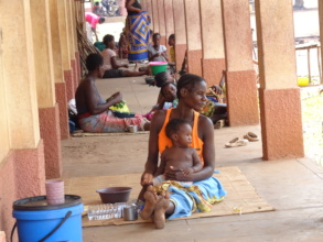 A primary school as a temporary shelter